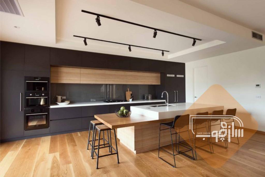 رنگ بندی کابینت آشپزخانه